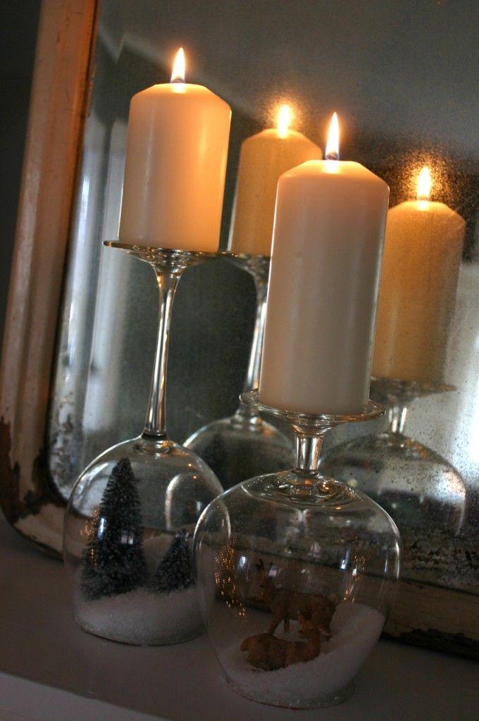 bougies verres